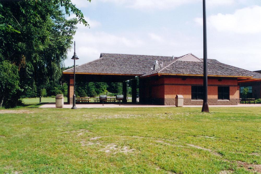 Back of Pavilion