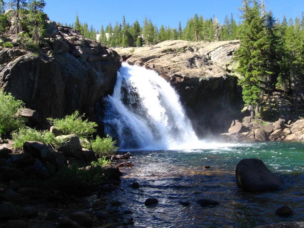 Waterfalls at Glen Aulin Camp