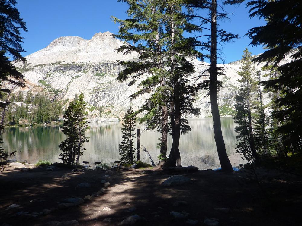 View from May Lake Campfire