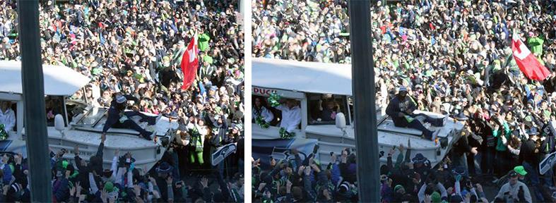 1-2 pm: Everyone loves a parade . . .