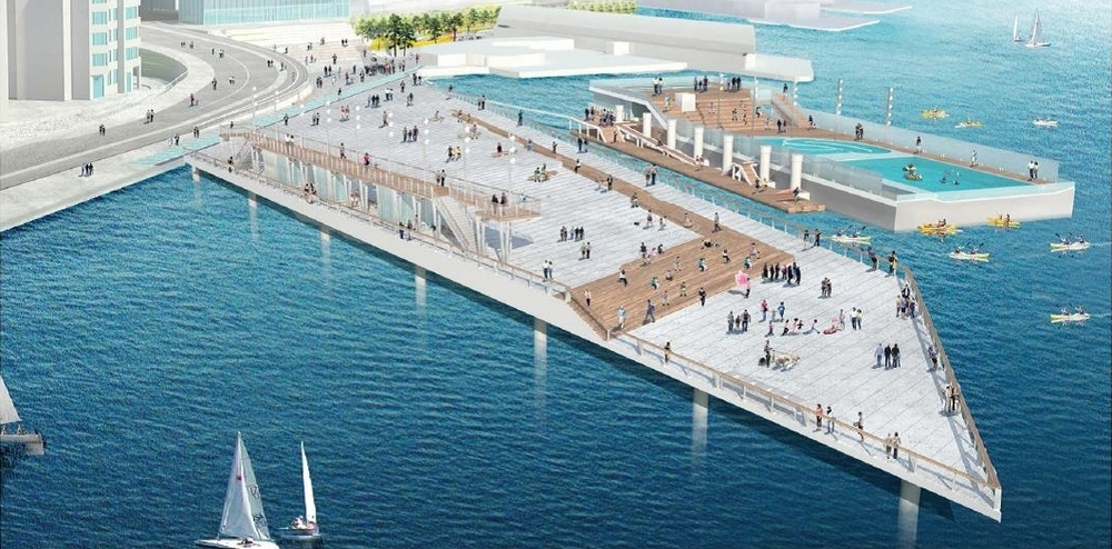 Pier 62/63 Schematic Design From: Waterfront Seattle (Click image for Waterfront Seattle Schematic Design Report)