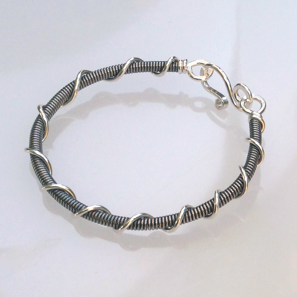 Blackened Vortex Bracelet