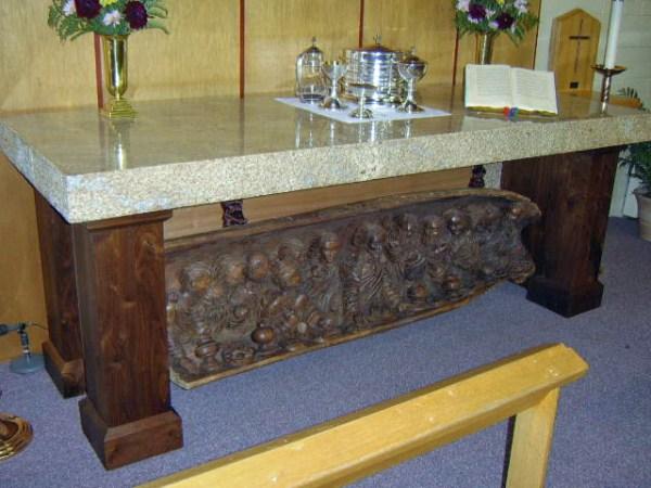 Redeemer Lutheran Altar