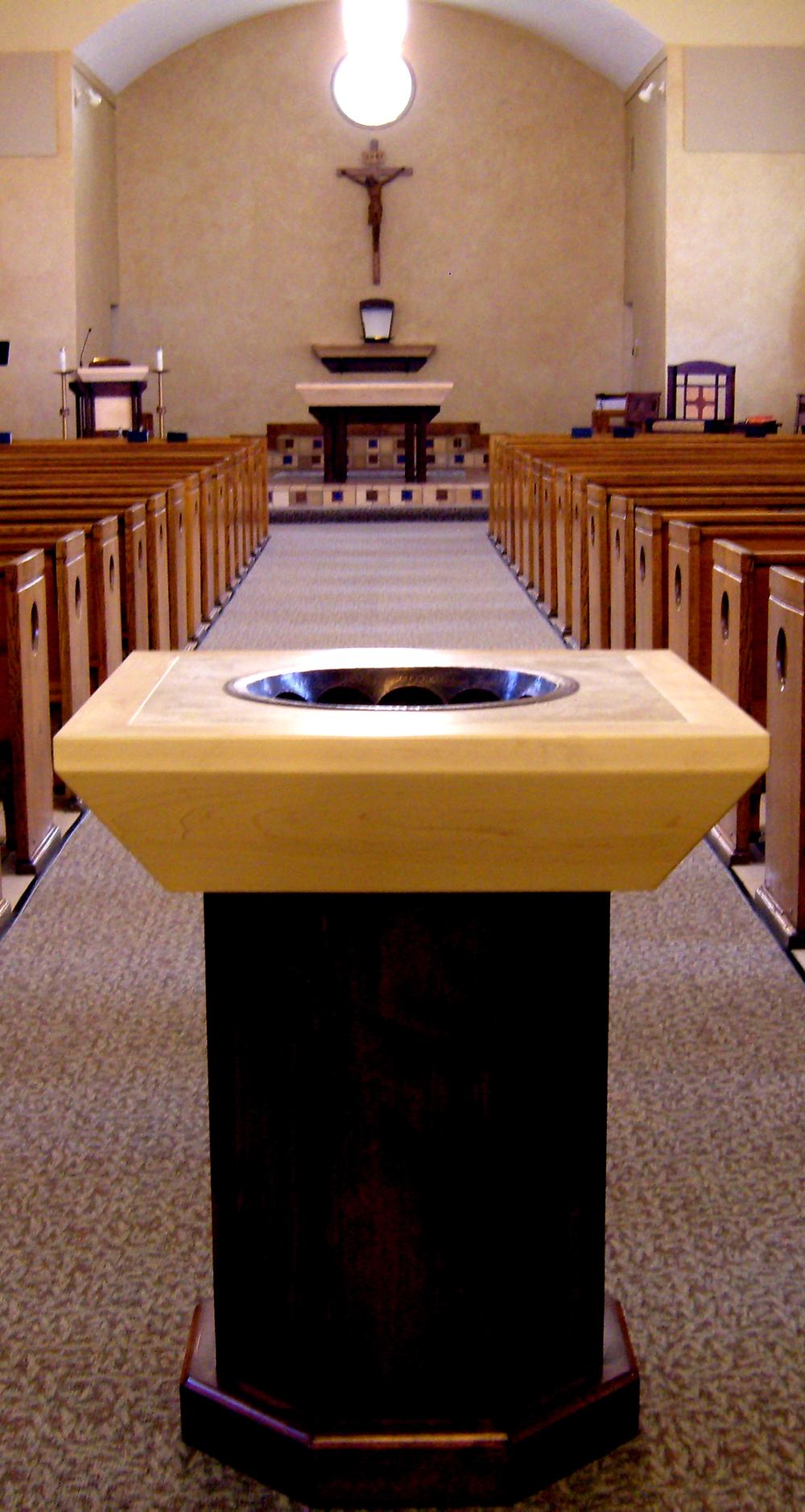 St. Patrick Baptismal Font