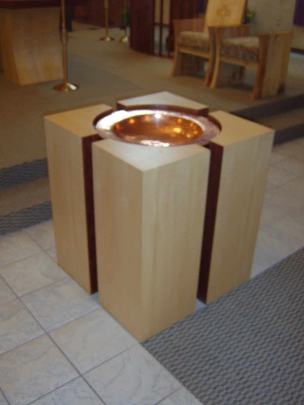 St. Therese Baptismal Font 1
