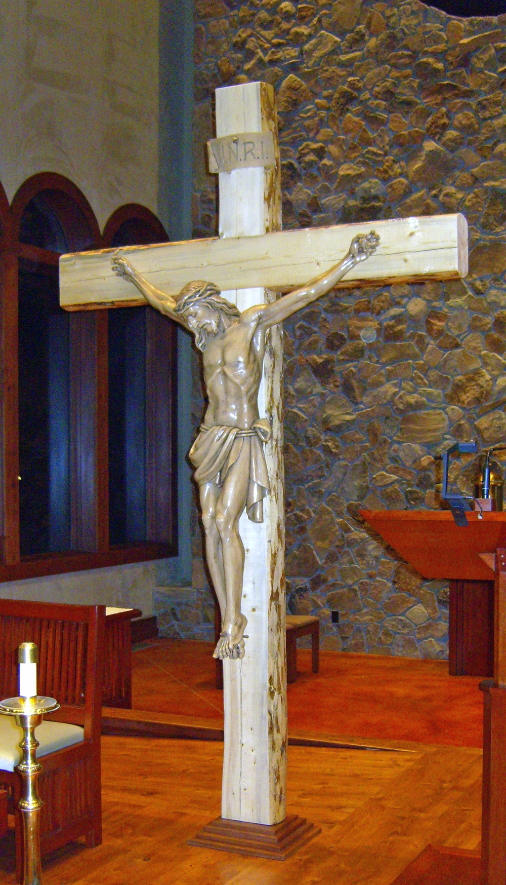 OL Snows Sanctuary Crucifix
