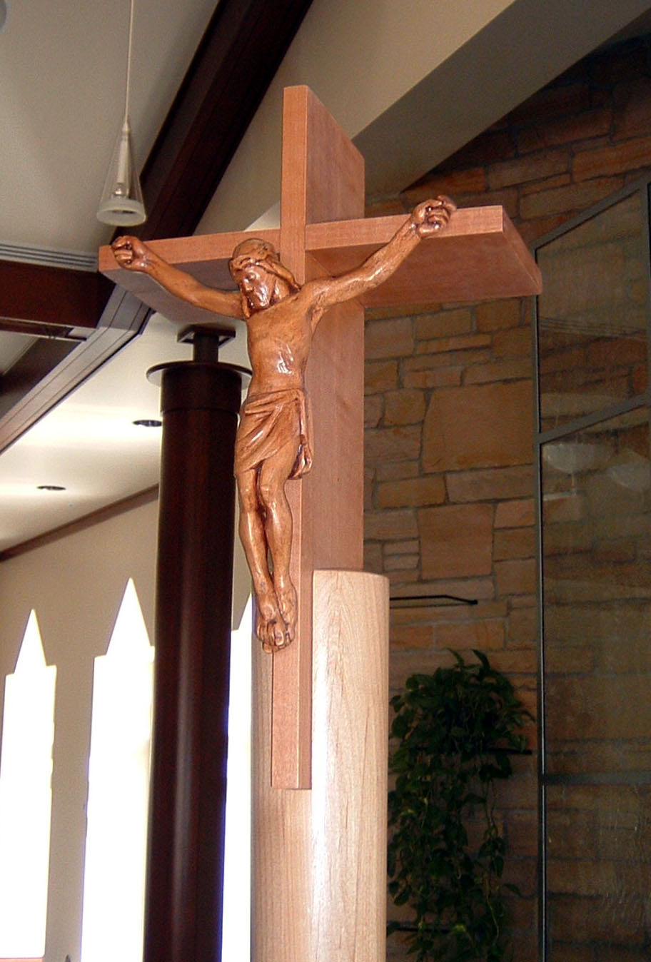 St. Catherine Processional Cross