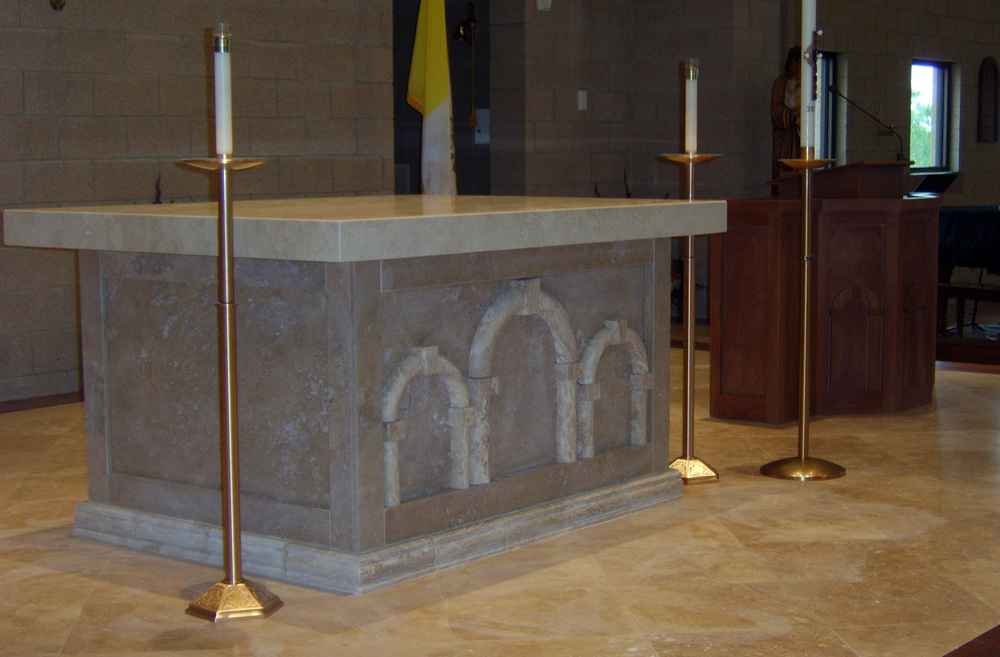 St. James Altar & Ambo
