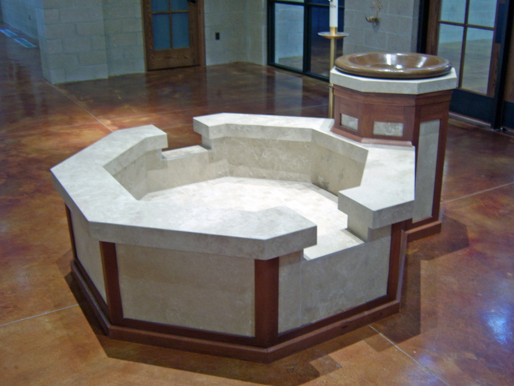 St. James Baptismal Font