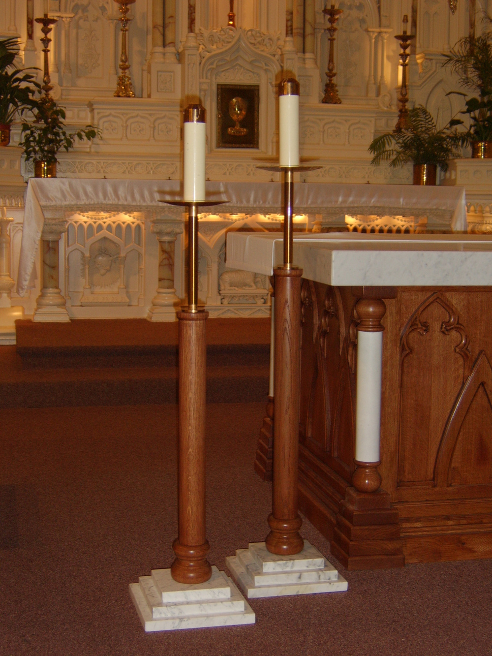St. Joseph Processional Candle Stands