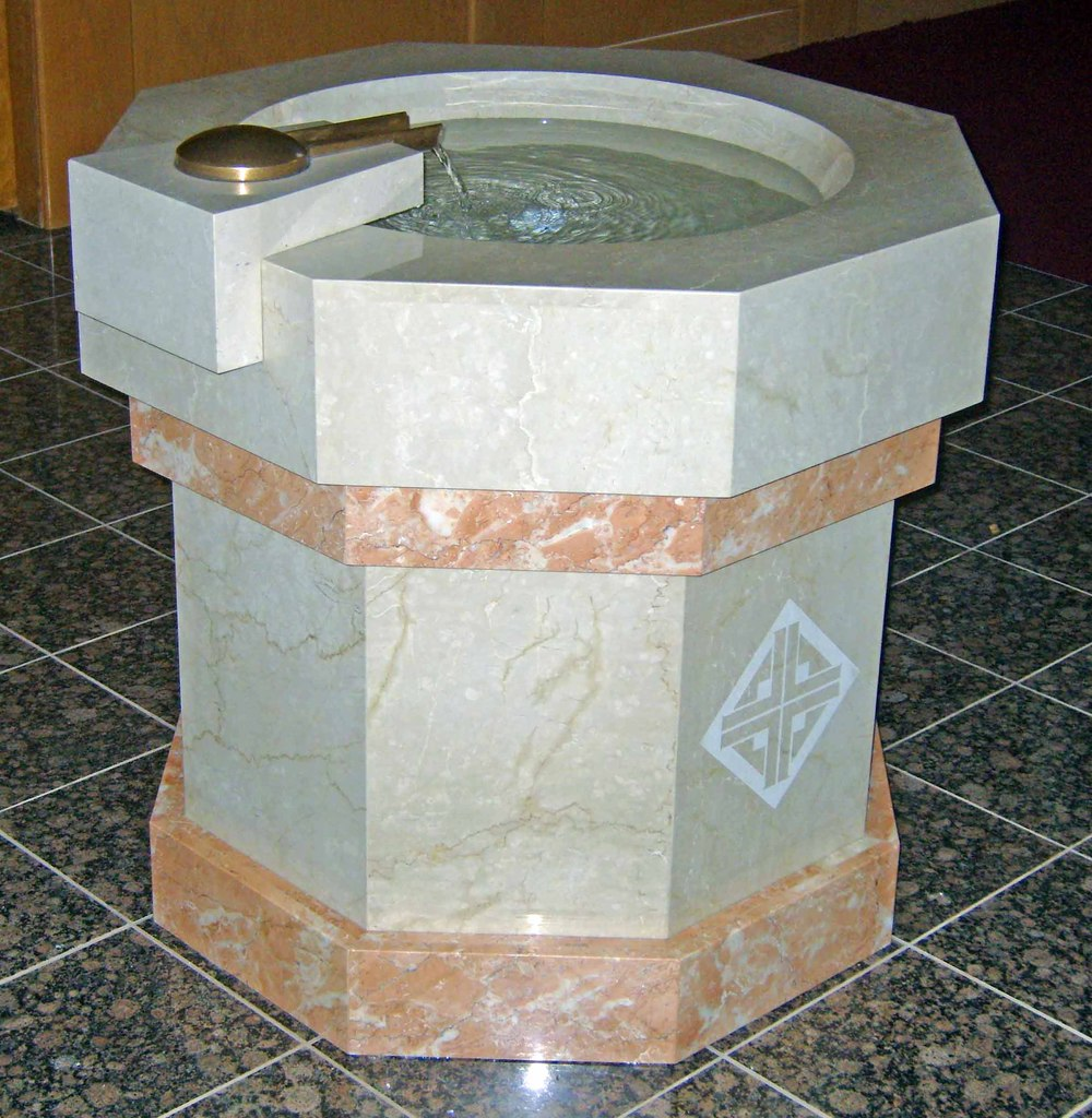 Our Lady of Lourdes Font