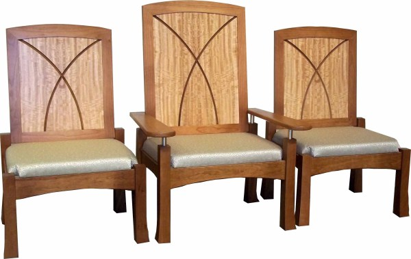 Our Lady Queen of Angels Chairs