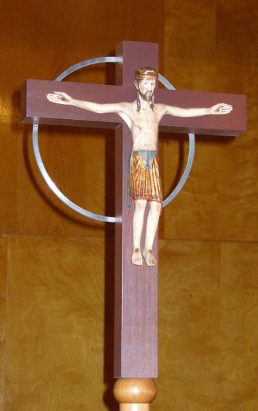 Pius X Processional Cross
