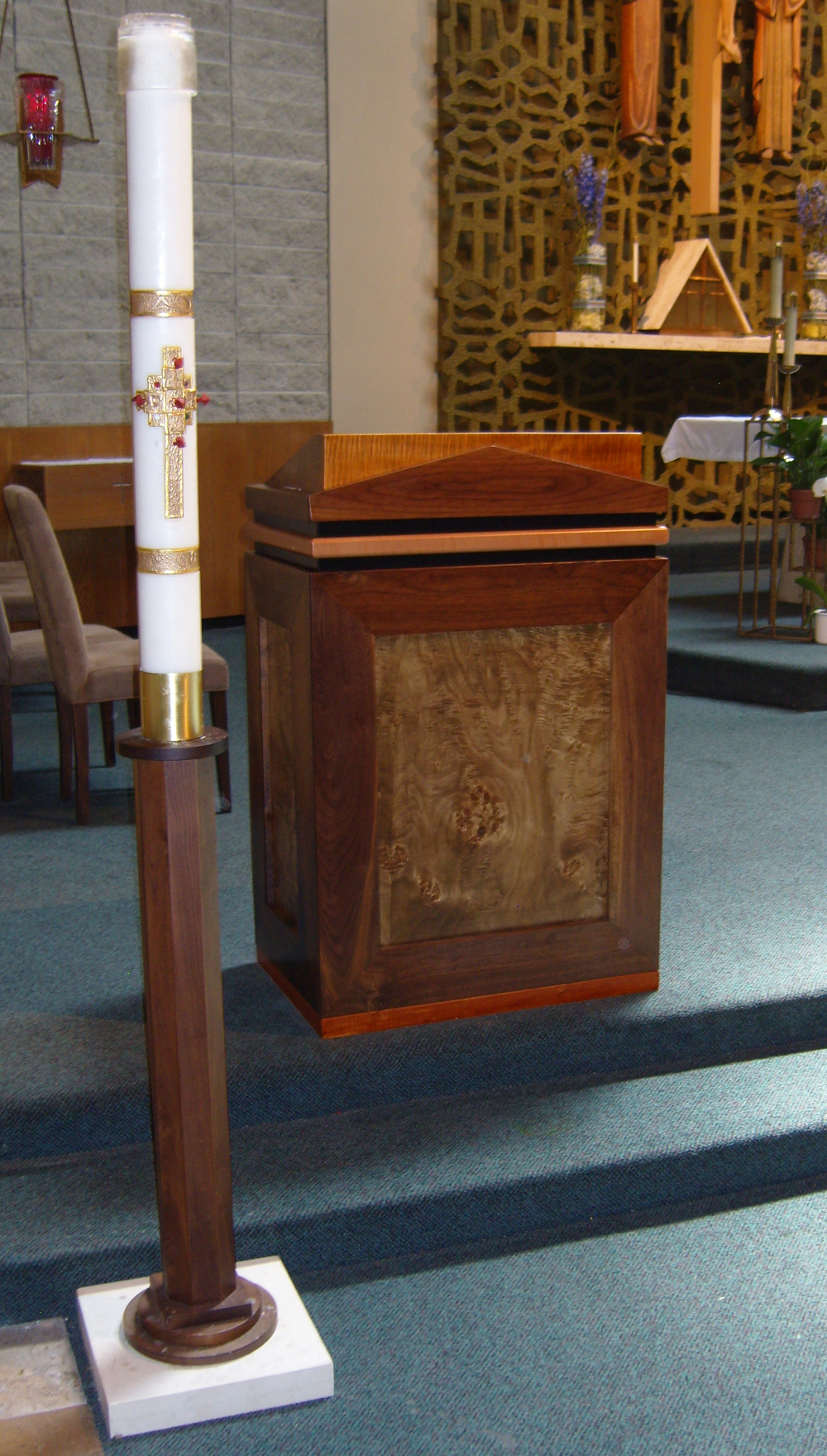 St. Cyprian Paschal Candle Stand