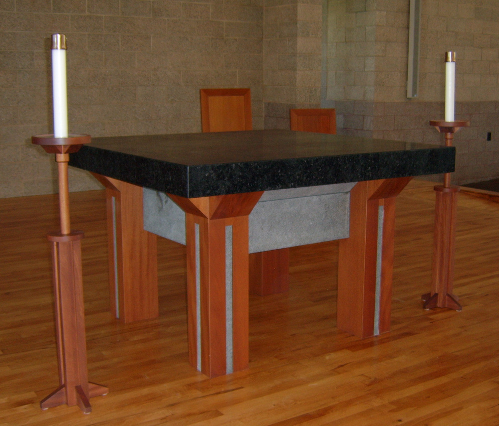 St. Thomas Processional Candle Stands