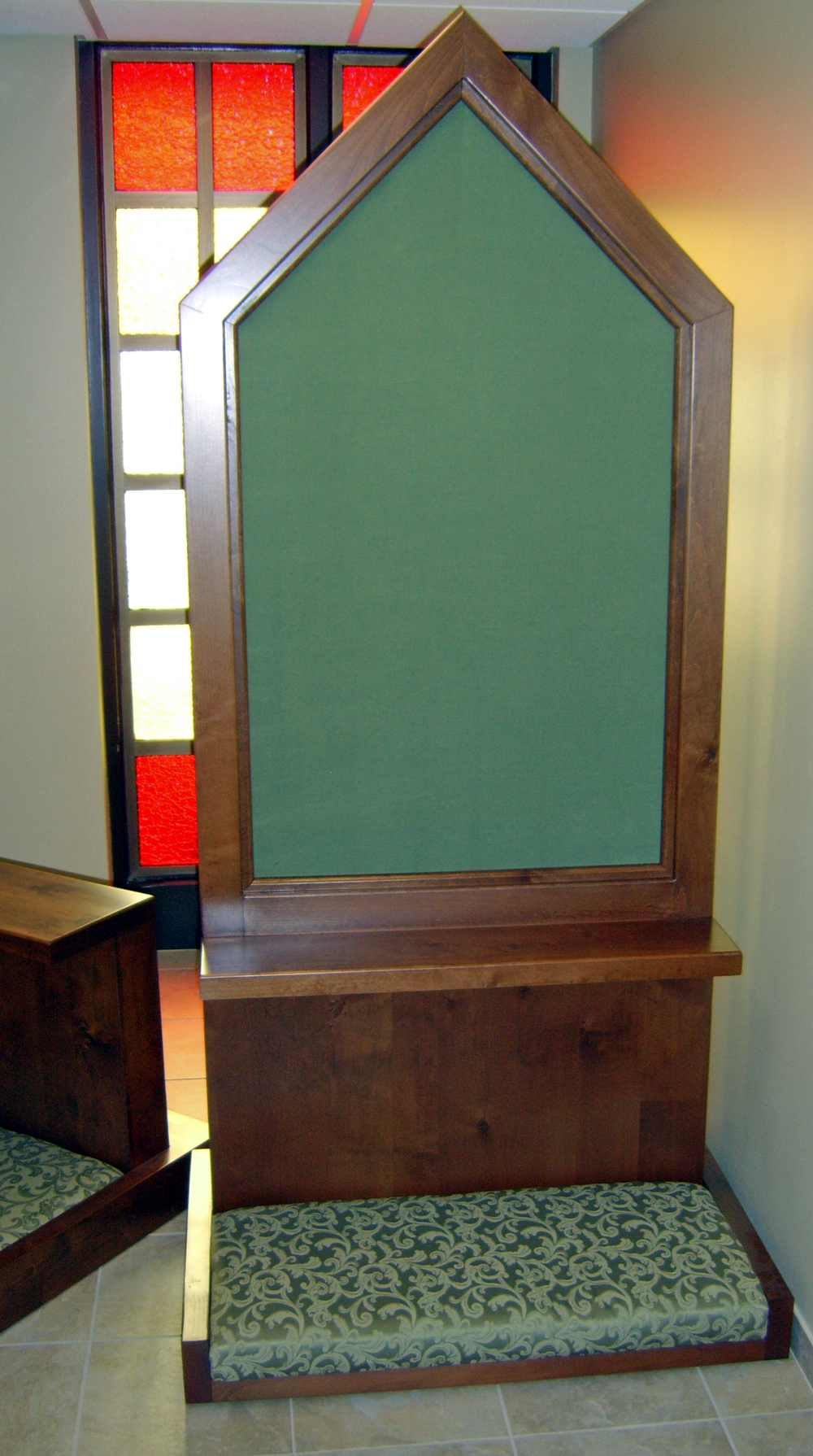 Reconciliation Room Screen St. Therese