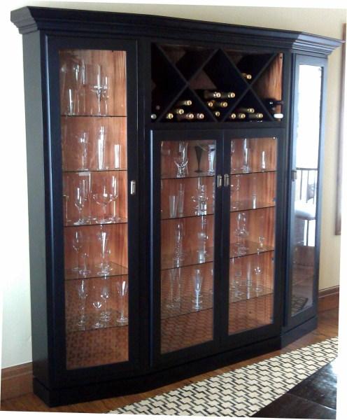 Miller Champagne Cabinet