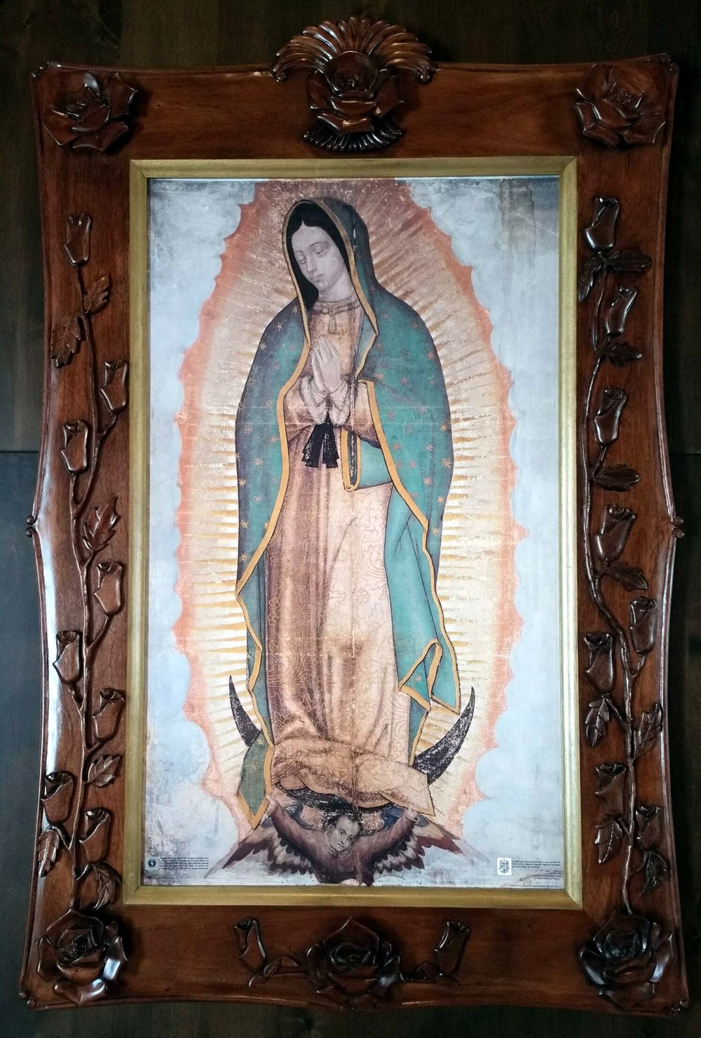 Virgen of Guadalupe Canvas