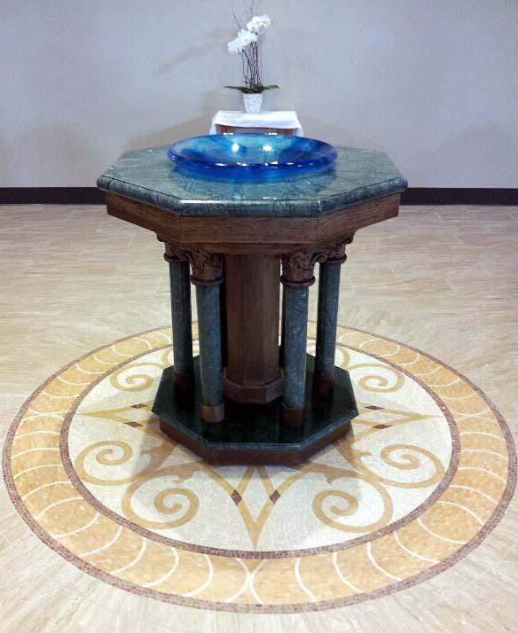 Elizabeth Ann Seton Baptismal Font