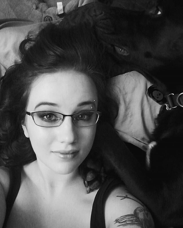 "Meet Mr. Murderface ""Ace"" 💀💙 #doggo #pupper #ace #hessocute #icoulddie #blackandwhite #fivehead #whydodogpawssmelllikefritos #dogsofinstagram #dog #bw"