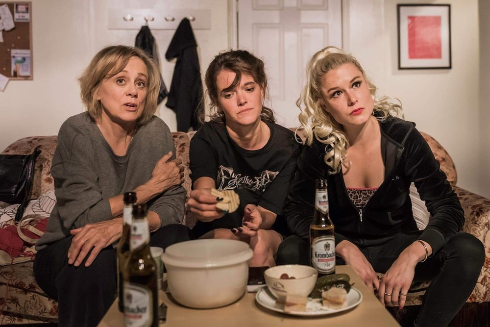 Fiona Reid, Claire Burns and Anne van Leeuwen in  The Chance