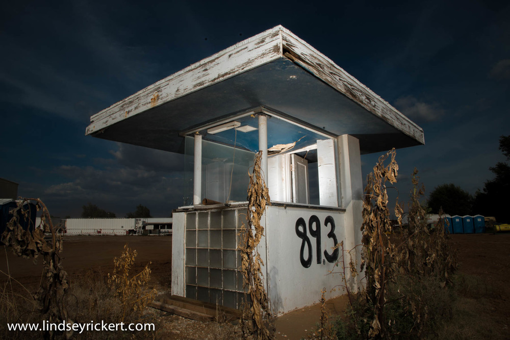 Abandoned Star-Vu Drive-In, Anthony, Kansas