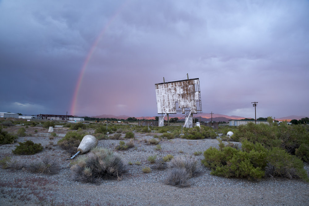 Abandoned Sage Crest Drive-In located in Yerington, Nevada