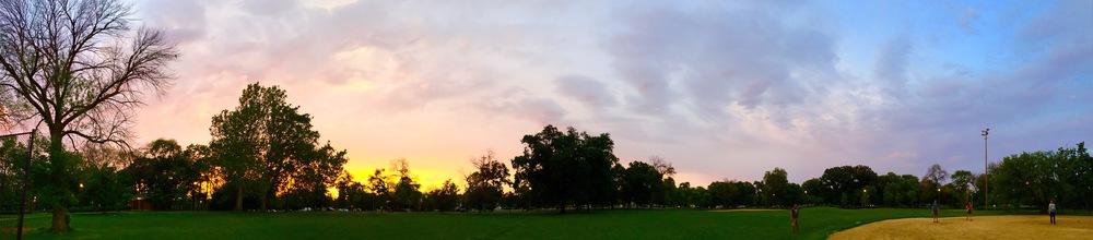 Humboldt Park Sunset