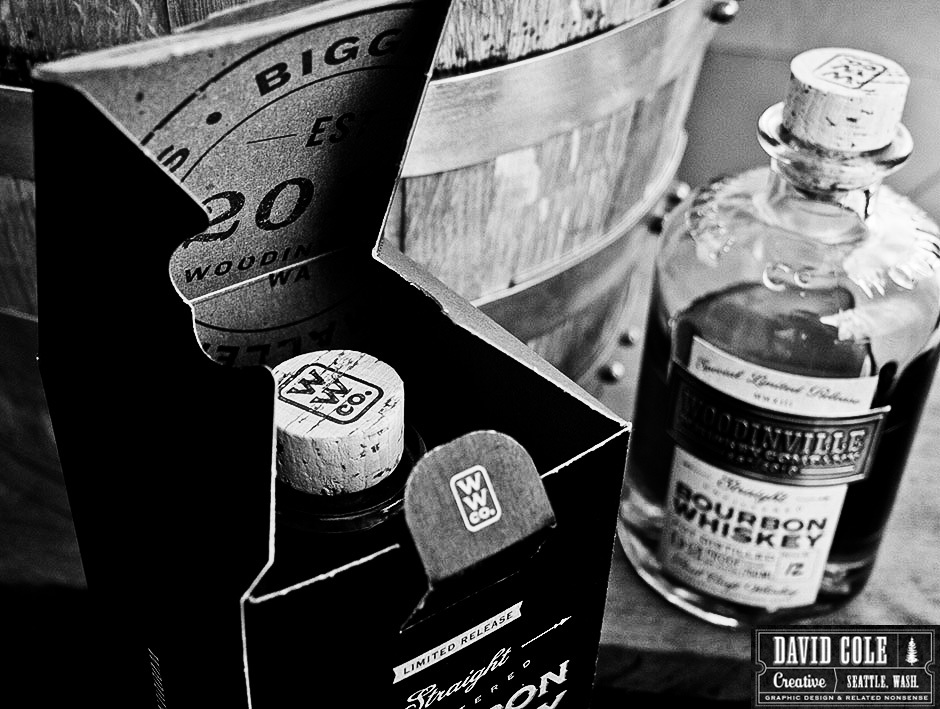 Woodinville Whiskey Straight Bourbon Whiskey. Photo courtesy David Cole, www.davidcolecreative.com.