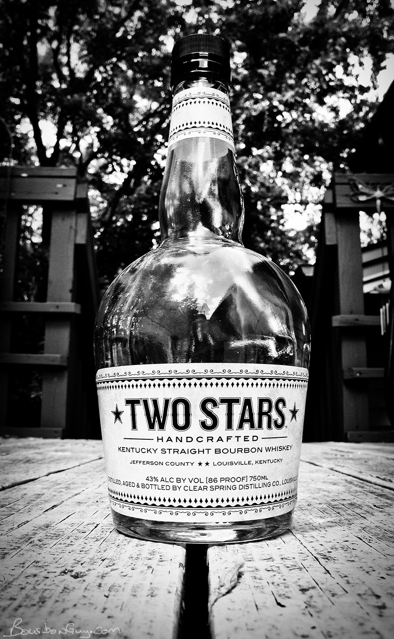 Two Stars Bourbon, made by Buffalo Trace.