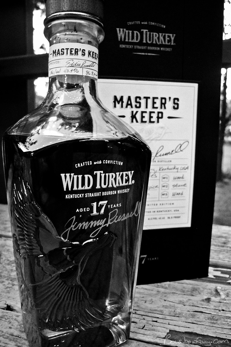 Wild Turkey Master's Keep: an expensive, old and tasty bourbon.