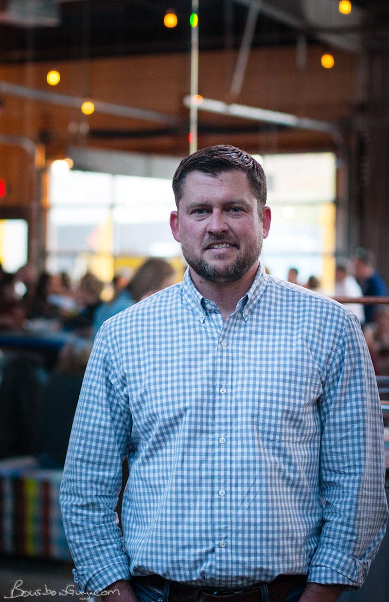 Tattersall Distilling Chief Officer, Jon Kreidler. (Photo by Eric Burke.)