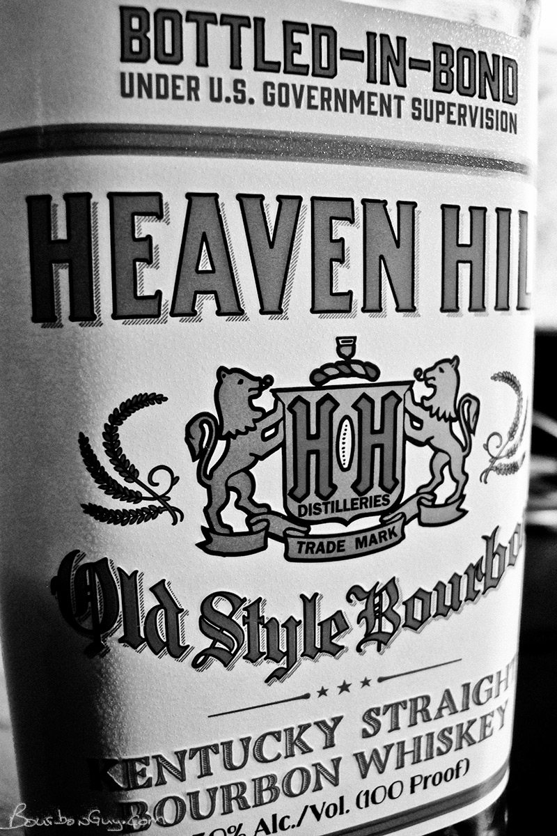 Heaven Hill Bottled in Bond 6 year old, white label