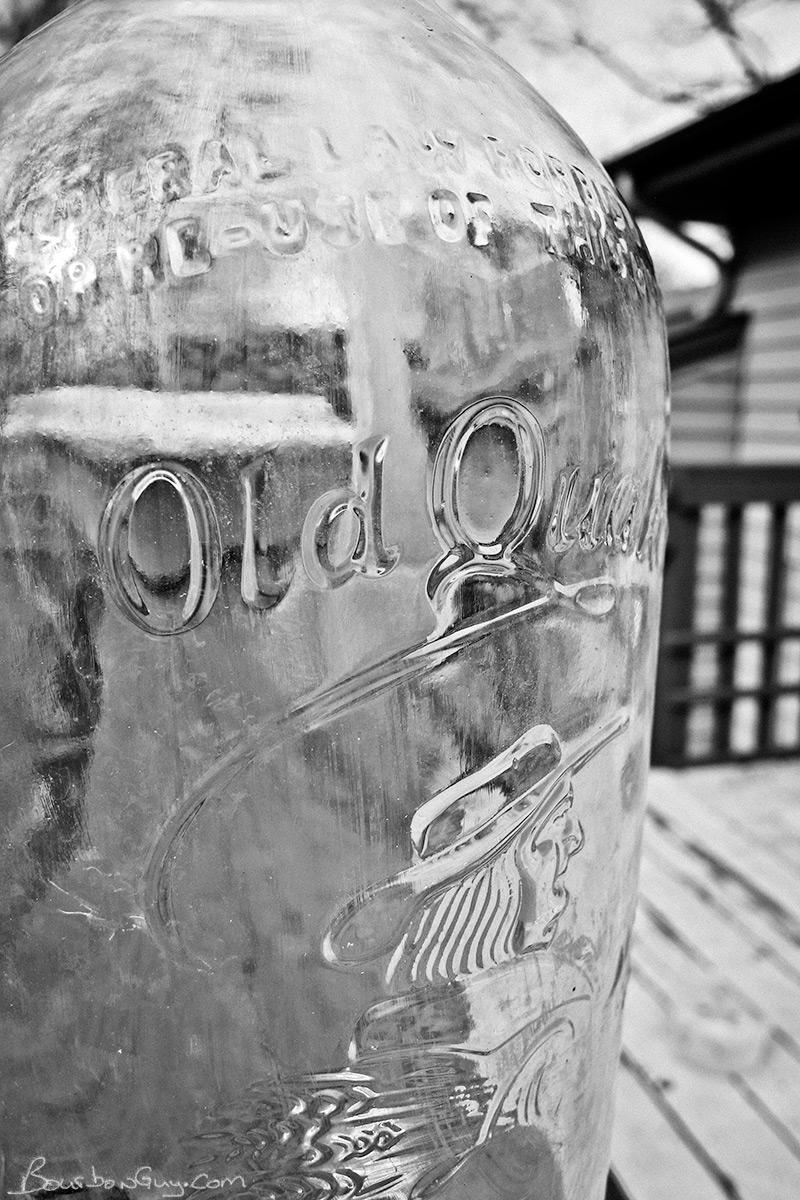 Old Quaker Whiskey Bottle from 1936
