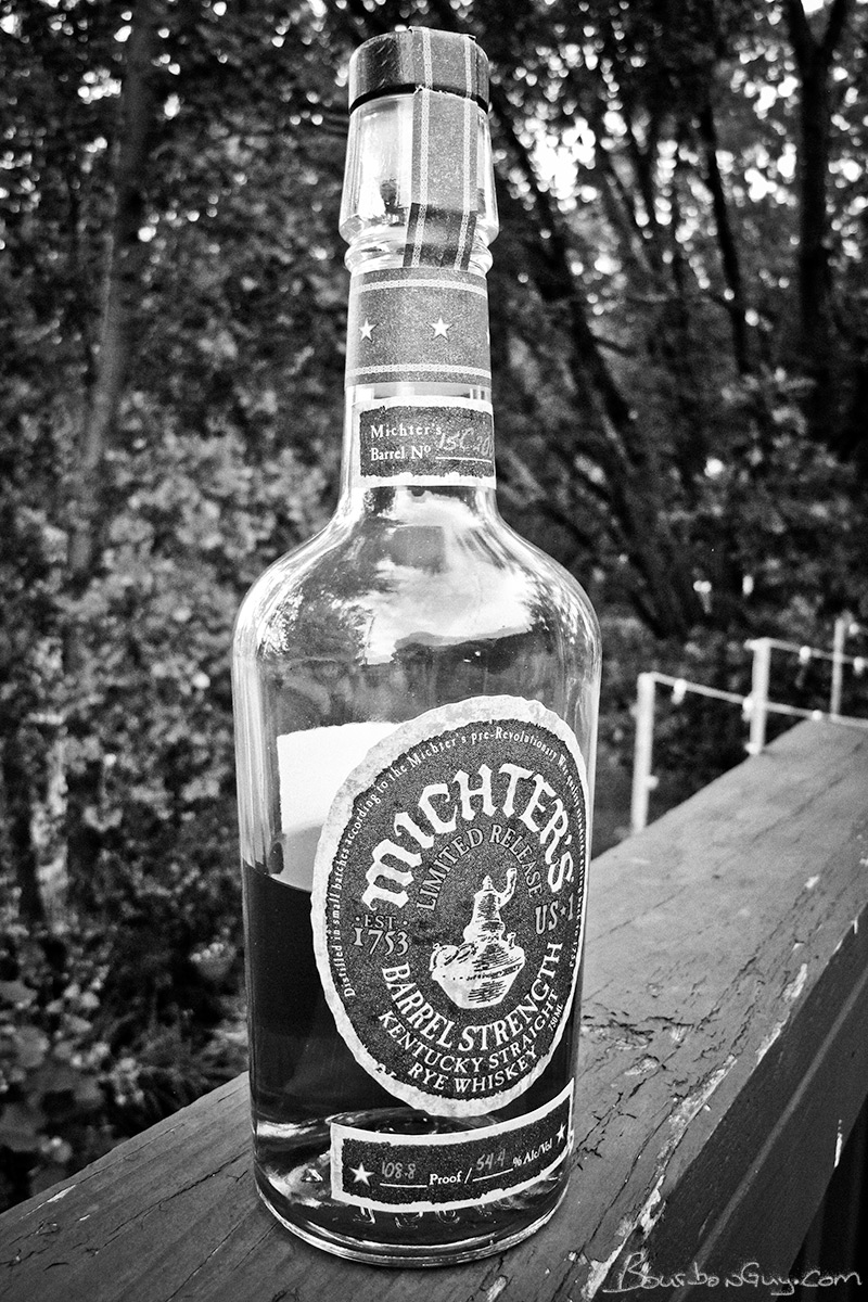 Michter's Barrel Strength Rye Whiskey
