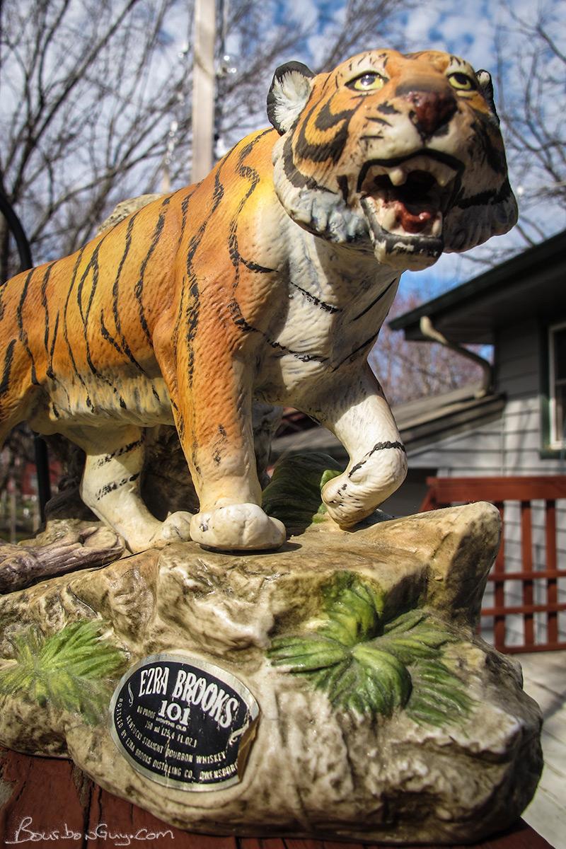 1979 Ezra Brooks Bengal Tiger decanter