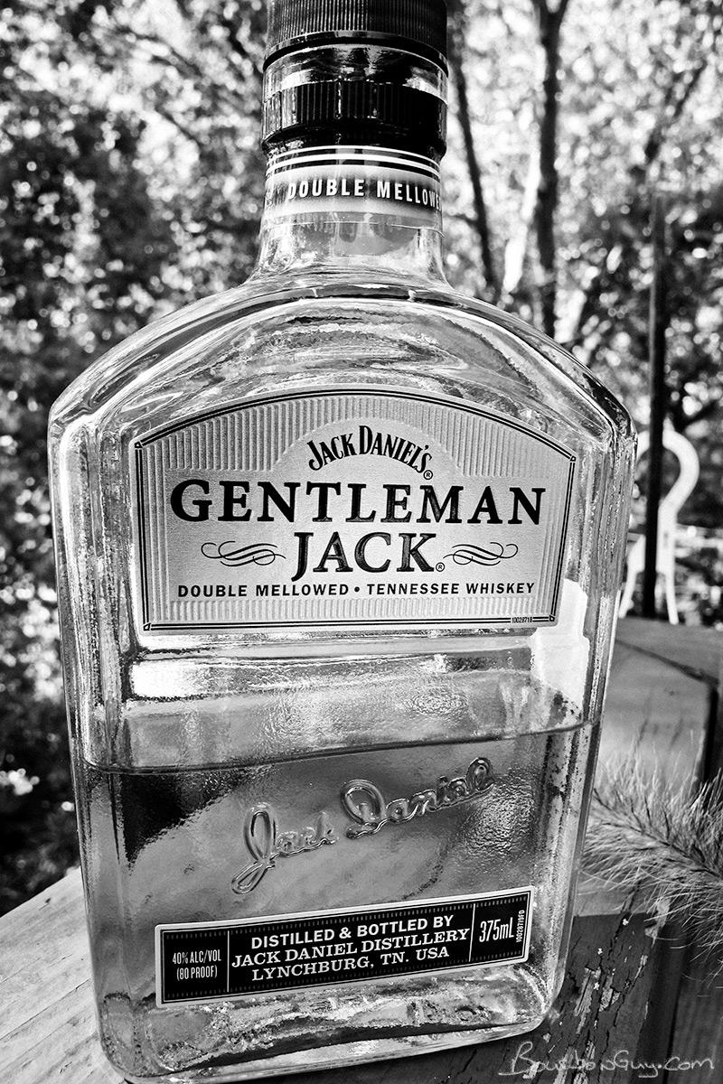A 375 mL bottle of Jack Daniel's Gentleman Jack