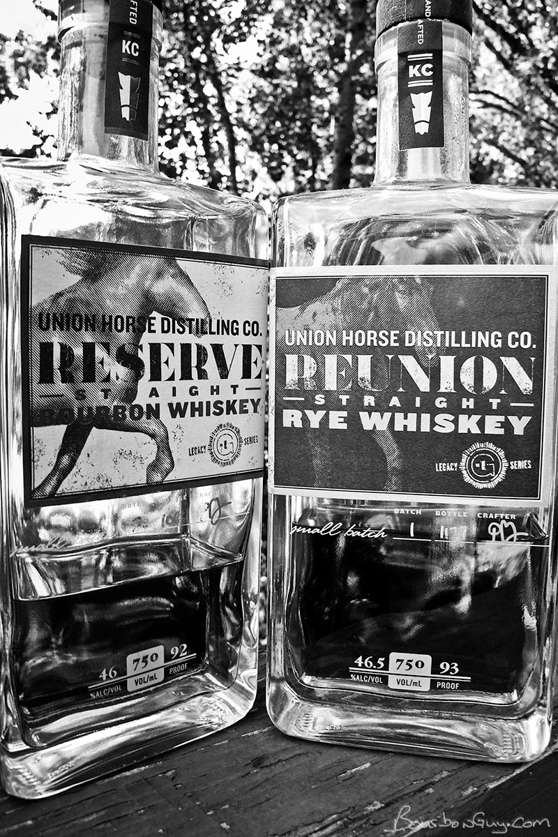 Union Horse Reserve Bourbon and Union Horse Reunion Rye