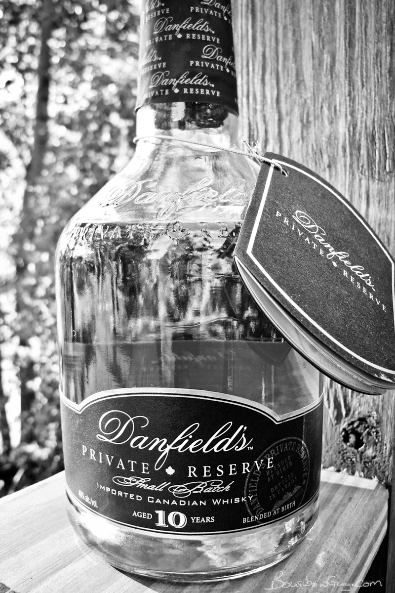 Danfield's Private Reserve 10 year old Canadian Whisky