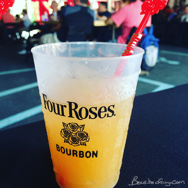 A breakfast cocktail at Four Roses