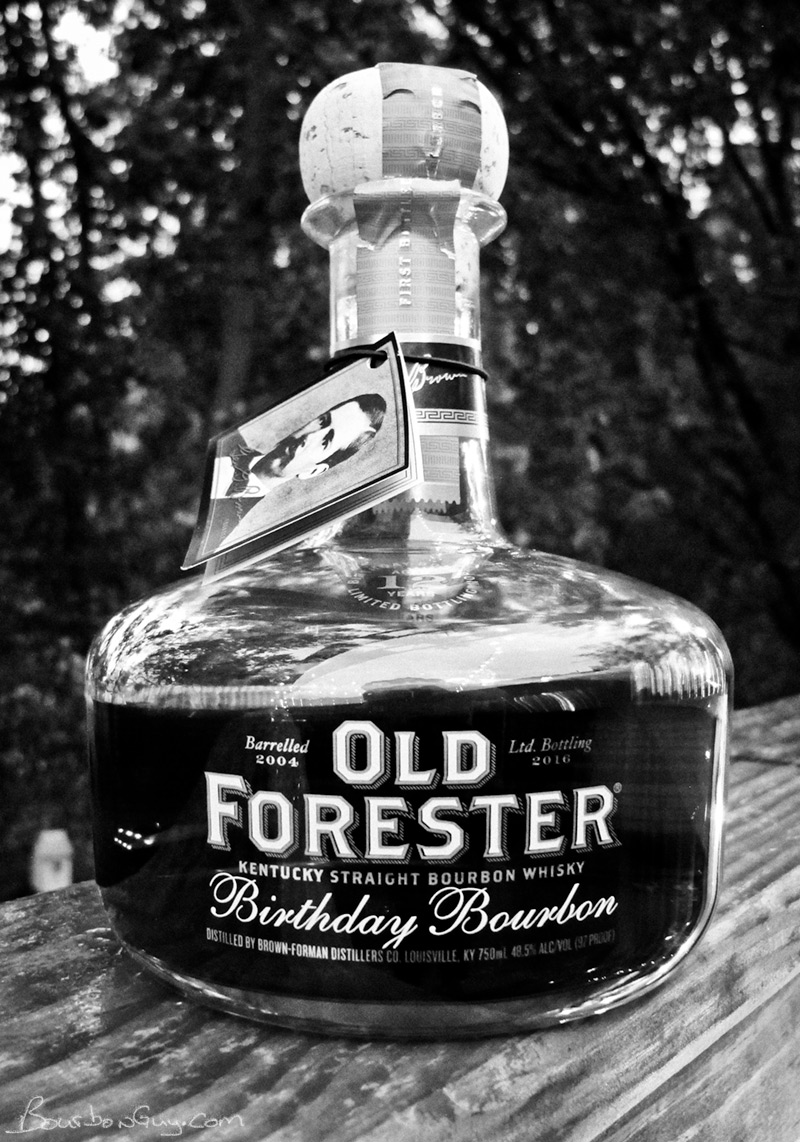Old Forester Birthday Bourbon 2016 release