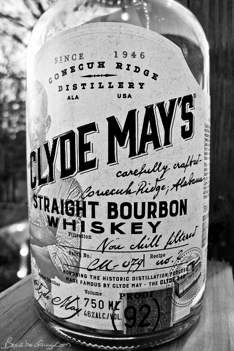 Clyde May's Straight Bourbon