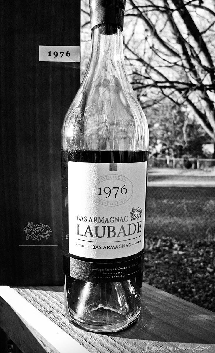 Chateau de Laubade Armagnac, 1976
