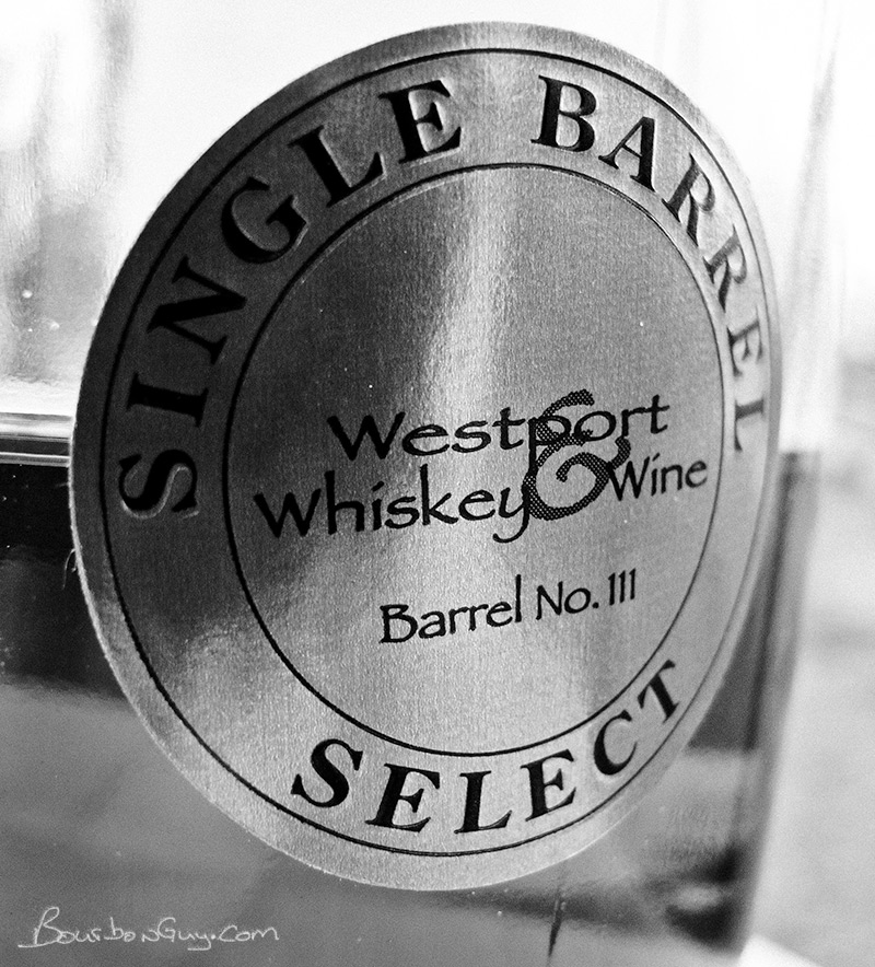 Buffalo Trace Store pick: Westport Whiskey & Wine label