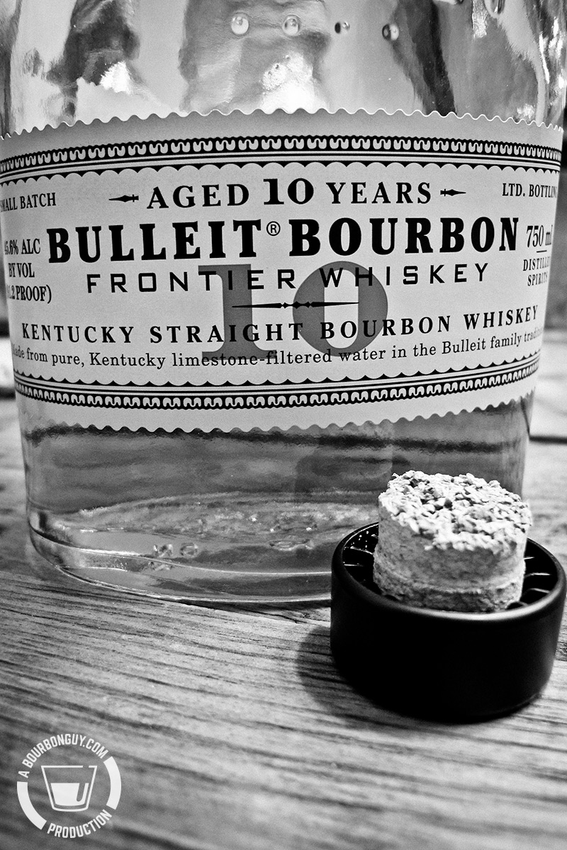 Bulleit 10 Year Old and a borken cork