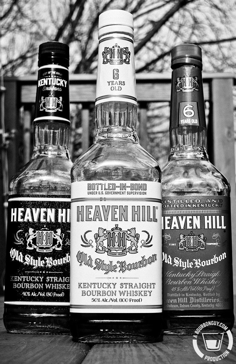 Heaven Hill-branded bourbons
