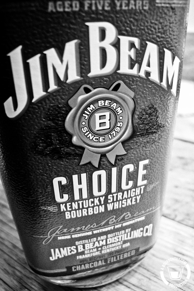Jim Beam Choice, Green Label 5 year old bourbon.