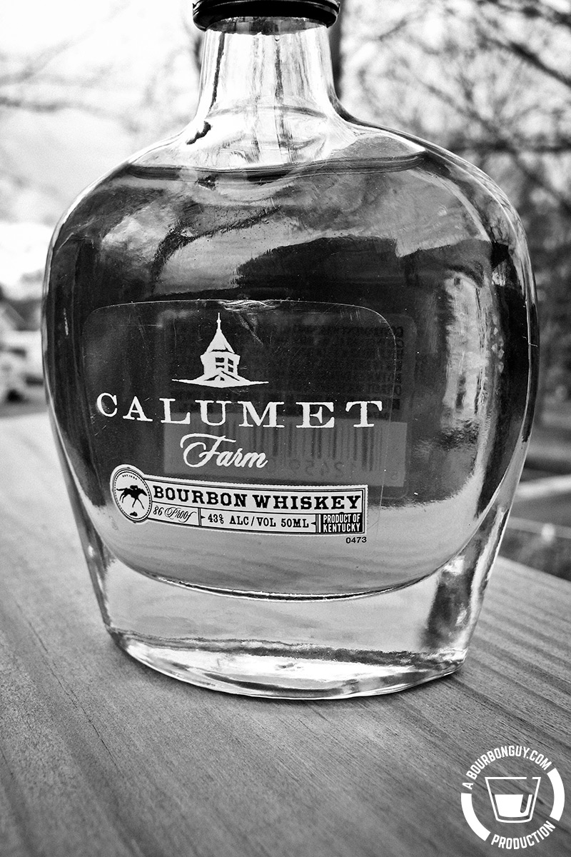 Calumet Farms bourbon.