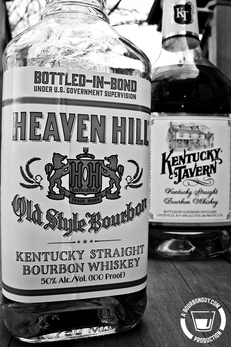 Heaven Hill Bottled-in-Bond vs. Kentucky Tavern