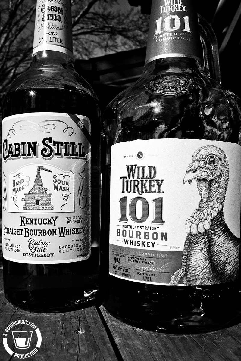 Cabin Still and Wild Turkey 101
